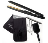 Silver Bullet Black Crystal Hair Straightener Black + Bonus Item